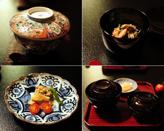 長野市のWebサイト制作会社 デザインスタジオ・エルWeb事業部「ウルトラエル」江戸時代の器で食事を楽しむ